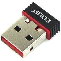 Adaptador Wireless Mini Wifi Usb Edup Nano Rede 150mbps