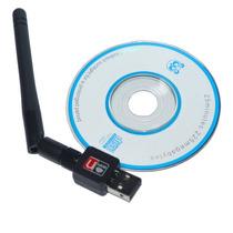 Antena Wifi Usb 2.0 Amplificador Repetidor De Sinal 300 Mbs