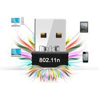 Mini Adaptador Receptor Usb Wirelles Wifi 150 Mbps 802.11n