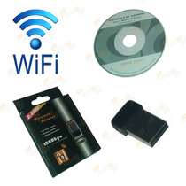 Adaptador Wireless Usb Wifi 150mbps Ultra Mini Pc Notebook