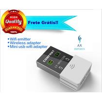 Mini Adaptador Wifi Usb 150mbps Ralink Rt5370 Frete Grátis