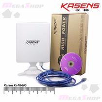 Ad.wireless Usb Kasens N9600 6600mw Setorial 80dbi 100 Km