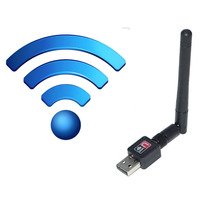 Receptor Sem Fio Wifi Internet Adaptador Usb Pc Notebook