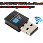 Adaptador Wireless Micro Usb Wi Fi 300mbps Lan Win/mac/linux
