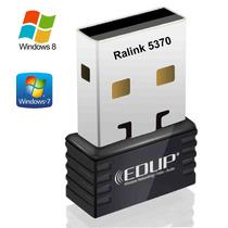 Mini Adaptador Receptor Ralink 5370 Wireles Usb Nano 150mbps