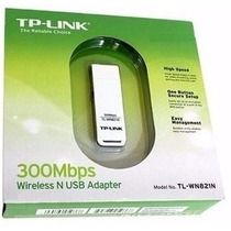 Adaptador Wireless Usb Tp-link Tl-wn821n 300mbps 802.11n V4