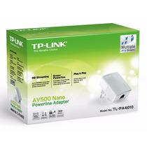 Tp-link Tl-pa4010 Powerline Extender 500 Mbps Rede Elétrica