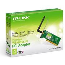 Placa De Rede Wireless Pci Tp-link Wn751nd 150mbps#sp Retira