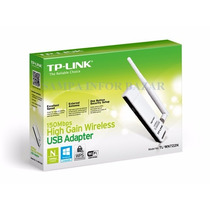 Adapt Usb Wireless 150mbps Tp-link Tl-wn722n #entregagratis