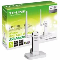 Adaptador Wireless 150mbps Usb Tp-link Tl-wn722nc Antena 4db