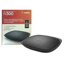 Roteador Wireless 10/100 Mbps 2 Antenas Belkin + Nfe