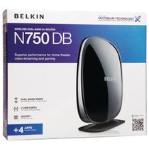 Roteador Belkin N750 N+router