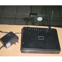 Roteador Wireless N D-link Dir-600 Switch 4 Portas Firewall