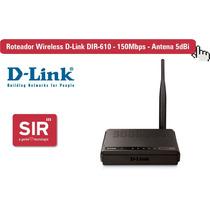 Roteador Wireless D-link Dir-610 - 150mbps - Antena 5dbi