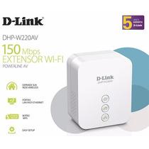 Extensor De Alcance Power Line N 150 D-link Dhp-w220av