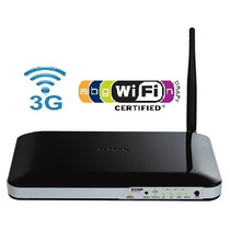 Roteador Wireless D-link 300 Mbps Dwr-512 - Entrada Chip 3g