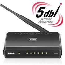 Roteador Wifi Wireless N D-link Dir-600, 5dbi 10x + Alcance