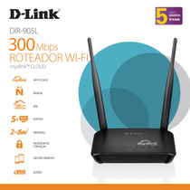 Roteador Wi-fi 300mbps Mydlink Cloud Dir-905l 5dbi D-link