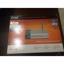Roteador D-link Di-524 Wireless G Broadband Router