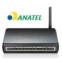 Modem + Roteador Wifi D-link Dsl-2730b Homologado Anatel