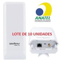 Antena Cpe Intelbras Wom5000 5ghz (nanostation) -lote 10 Pçs