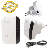 Repetidor Expansor Wifi Wireless Roteador 300mbps Wi Fi