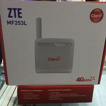 Modem Roteador 4g Zte Mf253l Chip Direto No Aparelho Desbl