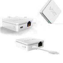 Mini Roteador Wireless Wifi Portátil 300mbps Repetidor