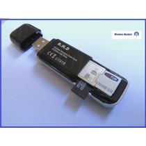 Modem Usb 3g Desbloqueado Wireless + Adaptador Pendrive