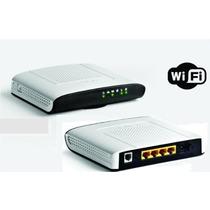 Modem Roteador Wifi Dsl2+ Gvt Technicolor Td5136 V2