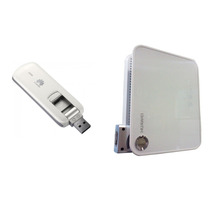 Kit Roteador Wifi Huawei D100 + Modem 3g E 4g Huawei 3276