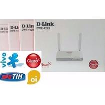 Modem Roteador Wifi Internet 3g 4g Veicular Com Conversor