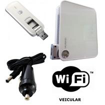 Kit Wifi Veicular C/ Adaptador 12/24v Incluso | 32 Usuários
