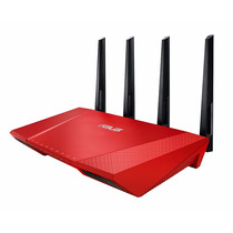 Roteador Asus Rt-ac87u Limited Red Edition Wireless-ac 2400