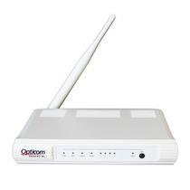 Modem E Roteador Wireless Opticom 150mbps Dslink 477-m1