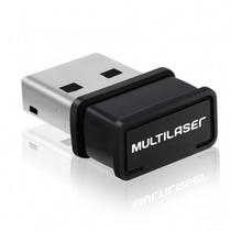 Promoção Adaptador Usb Multilaser 150mbps Re035 1 Antenas