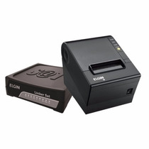 Combo Sat Fiscal Elgin Linker Mais Impressora Termica I9 Usb