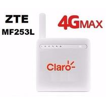 Modem Roteador 4g Zte Mf253l 300mbps Desbloq Saída P/antena