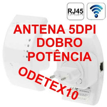 Repetidor C/ Antena 5dpi Expansor Wifi Wireless Amplificador