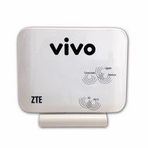 Roteador Vivo Box Zte® Mf23 Modem Wi-fi Voz 3g Wireless