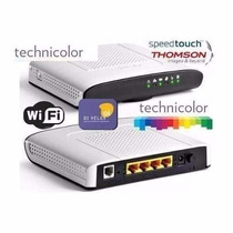 Modem Roteador Wi-fi Technicolor Td 5136 V2 - Kit Oi Velox