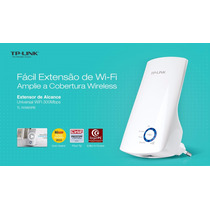 Repetidor Wireless Tp Link Amplificador Sinal Wa850re Wifi