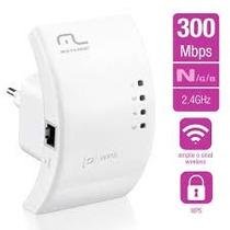 Repetidor De Sinal Wi-fi Wps 300 Mbps Re051 - Multilaser