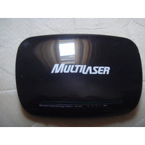 Roteador Lan Wireless N 4 Portas Multilaser Re024 Com Fonte