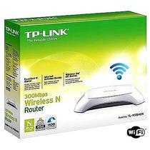 Roteador Wireless Tp-link Tl-wr840 N 300mbps Novo.