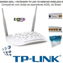 Modem + Router Wireless Tp-link 8961nd 300mbps
