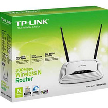 Roteador Wifi Tp-link Tl-wr 841nd 4 Lan 1 Wan 300 Mbps 2 Ant