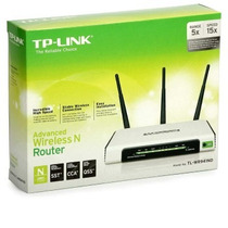 W. Tp-link Router Tl-wr941nd 300mbps Atheros 4p
