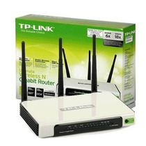 Roteador Tp Link Tl-wr941nd 300mbps - 3 Antenas Removiveis