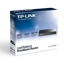 Roteador Tp-link Tl-r470t+ 4 Wan + Load Balance Até 4 Links